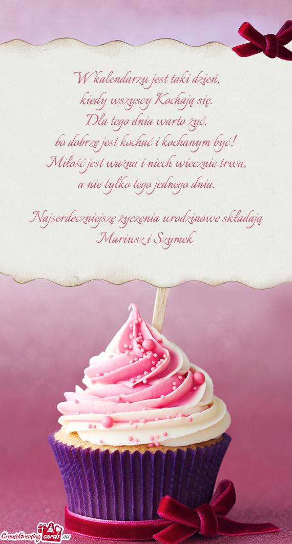Najserdeczniejsze życzenia Urodzinowe Składają Darmowe